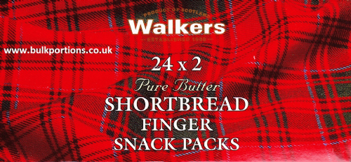 Walkers - Shortbread Finger - Snack Packs - BULK PORTIONS